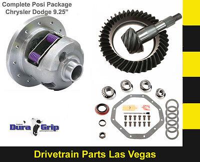 """Yukon Duragrip Dodge Chrysler 9.25"""" Posi Package Ring and Pinion Master Kit 3.90"""