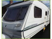Swift Abbey Aventura 4 Berth Touring Caravan Ace Sterling Group REDUCED.