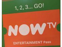 Now TV 2 Months Entertainment Pass (Snatch Code)