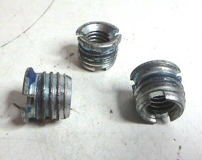 Herman Miller Mounting Hardware For Abc Office Chair 3 Pack Threaded Insert