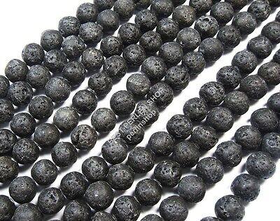 chwarz Kugeln Edelstein für Schmuck Kette Armband AZL1 (Perlen Für Armbänder)