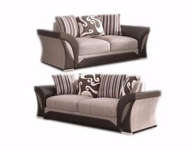 FAST DELIVERY! BRAND NEW SHANNON Corner Or 3 + 2 Sofa, SWIVEL CHAIRS, Universal corner Sofa