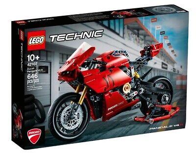 LEGO Technic 42107 Ducati Panigale V4 R. Brand New In Sealed Box