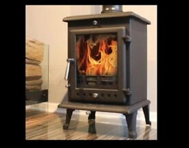 stove. 8kw. multi-fuel. Delivery £20.