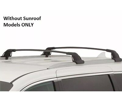New 2015-17Kia Sedona ROOF RACK CROSS BARS set 2 Luggage Rails Cargo No Sunroof