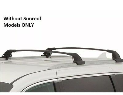 New 2015-17Kia Sedona ROOF Tenter CROSS BARS set 2 Luggage Rails Cargo No Sunroof