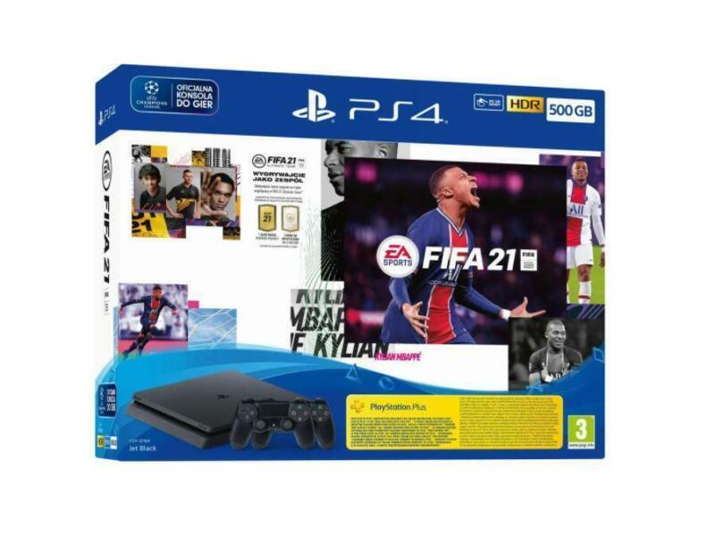 Sony+PlayStation+4+500GB++Fifa+21+Console+with+2+Dualshock+Slightly+Damaged+Box