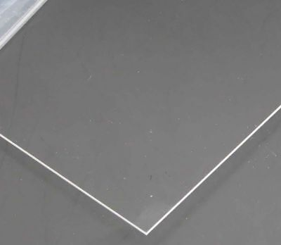 1mm A5 Transparent Perspex Acrylic Sheet Plastic Plexiglass Cut 15cm X 21cm Lot