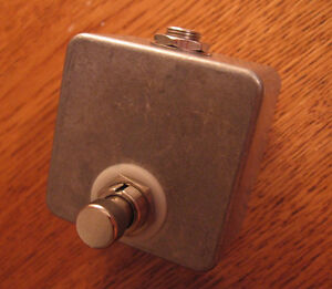 Looking for a small tap tempo footswitch pedal