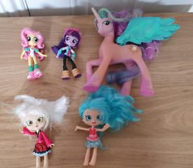 my little pony equestria girls minis mini & shopkins & celestia mlp vg