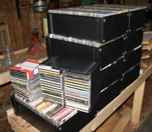 600 cd's country and classical