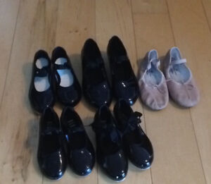 Maritime Dance Shoes, skirts and ballet sweaters