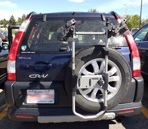 Thule 2 Bike Carrier for Rear Spare Wheel Mount - Universal Fit