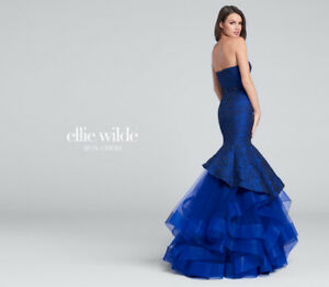 **Ellie Wilde prom dress in perfect condition**