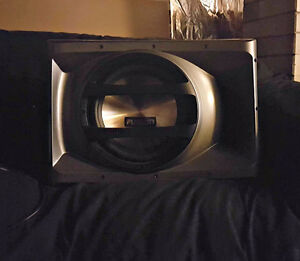 Subwoofer FUSION CP-AW1121 1500WATTS!