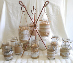 Decorative Jars (Plants,Candles,Scents Etc), Lovely- TEXT/CALL