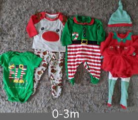 0-3m Christmas bundle