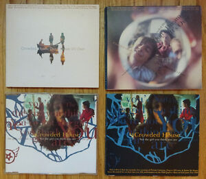 CROWDED HOUSE/ FINN related CD's (13)