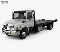 Weekend flatbed tow truck services