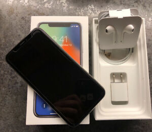 Immaculate iPhone X (64gb) Silver