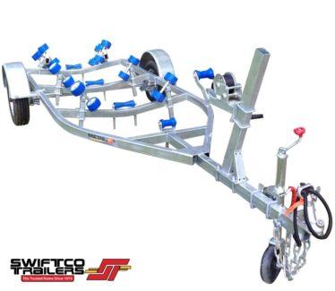 Swiftco 4 Metre Boat Trailer Wobble Rollers.Buy from $40 per week