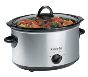 $15 slow cooker 4 qt for 4-5 people
