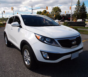 Just Like New - 2013 Kia Sportage White SUV, Crossover