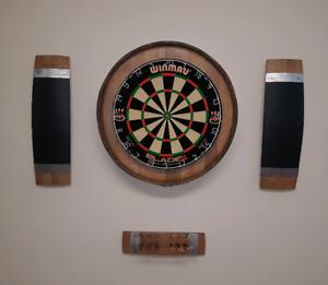 Custom dart boards.