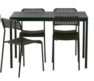 Never used ikea table chairs on sale