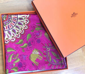Hermes silk scarf, excellent condition