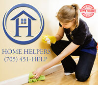 Worry free professional service Call Home Helpers Today!!