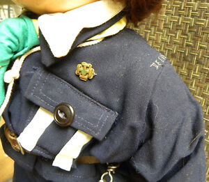 1940's RELIABLE COMPOSITION GIRL GUIDE DOLL ST JEROME QUEBEC West Island Greater Montréal image 5