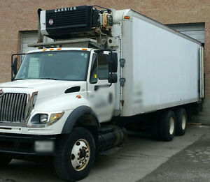 2004 International Reefer Straight Truck