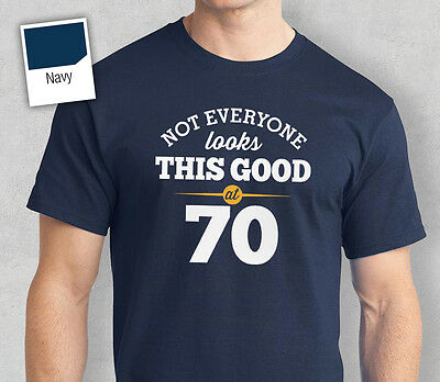 70th Birthday Gift Present Idea For Boys Dad Him & Men T Shirt 70 Tee Shirts  - Birthday Ideas For 70th Birthday