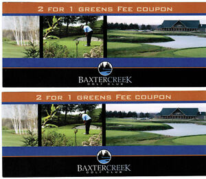 Baxter Creek Golf Club.