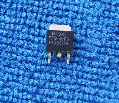 10pcs P5504edg P5504 Original Niko-sem P Channel Fets