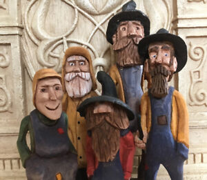 Wood carving and folk art