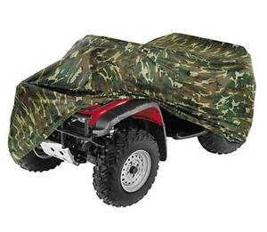 Camouflage Camo ATV 4 Wheeler Storage Cover Fit For Polaris Sportsman 500 600 LO