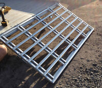 Trailer Ramp and trailer sides