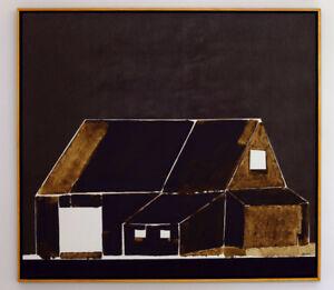 Toile du défunt peintre Jean-Marc Gaudreault