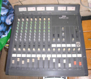 Yamaha MR842  Mixing Board [8 Channel - 4 Buss], selling ASIS