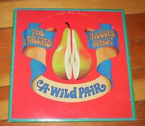 rare Canadian album A WILD PAIR guess who / staccatos 1960s Kitchener / Waterloo Kitchener Area image 1