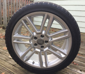 OEM Audi Rims and Winter Tires RS7, 255 40 RF 20