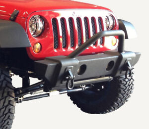 Jeep Wrangler JK Stubby Front Bumper for 2007-2018 Models