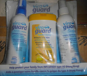 NEW Viraguard antiseptic spray, had wipes, surface disinfectant
