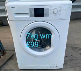 Beko 7kg washing machine free delivery in derby