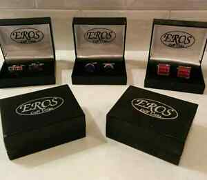 10 pairs of beautiful cufflinks in box (3$ ch.)