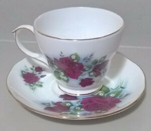Vintage  Duchess Bone China Ruby 40th Wedding Anniversary