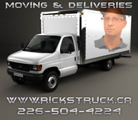 ⭐ RICK'S MOVING & DELIVERY SERVICE ⭐ 226-504-4224 ⭐