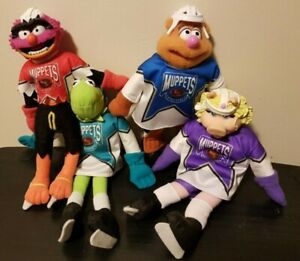 The Muppets McDonald's Plush NHL Hockey Set